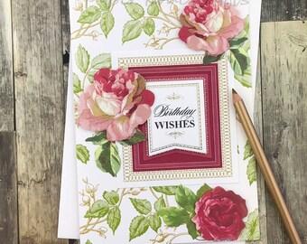 Birthday Roses Card