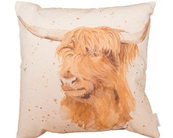 Hamish The Highland Cow Cushion