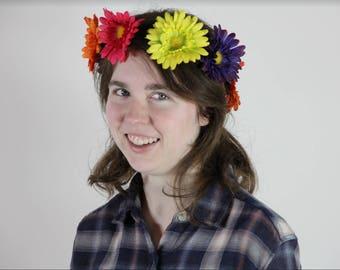 Junebug - Fiesta Daisy Flower Crown