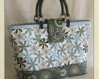 Miranda Day Bag Pattern by Joan Hawley, Lazy Girl Designs, Purse