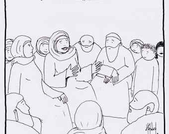 Women were Preachers Too CARTOON