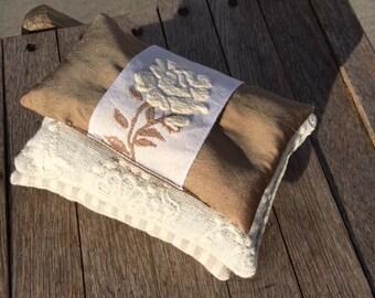 Lavender Sachet - French Lavender Romantic Rose Sachet Bridal Gift Scented Sachet