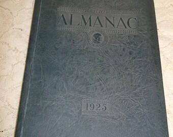LA Franklin High School Yearbook 1925 The Almanac