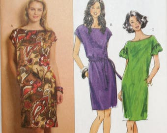 Dress Sewing Pattern - Misses Dress Sewing Pattern - Butterick 5211 - New - Uncut - Size 16 - 18 - 20 - 22 - 24