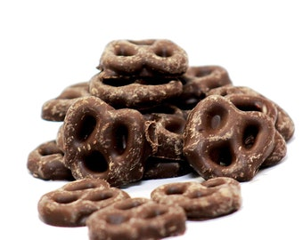 Gourmet Milk Chocolate Covered Pretzels by Its Delish