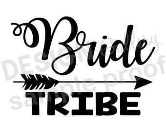 bride tribe arrow etsy
