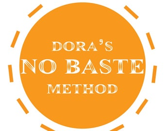 Dora's NO BASTE quilting method for free motion quilting on a domestic machine