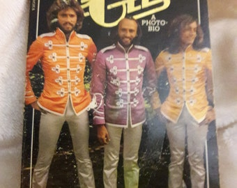 The Bee Gees vintage 78' paperback photo Bio by Kim Stevens