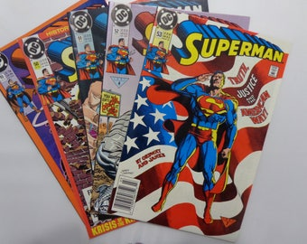 Superman 2nd Series Issues 49 through 53