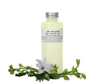Vegan toner - Popular among those with acne prone skin