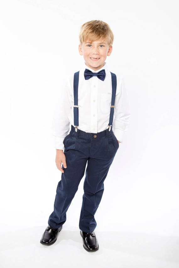 Navy Bow Tie u0026 Navy Suspenders
