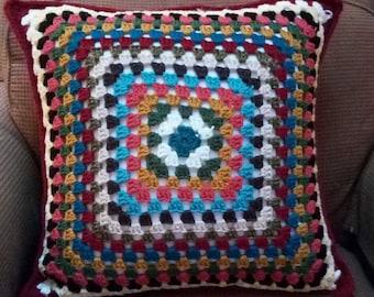 20x20 Handmade Crochet Pillow
