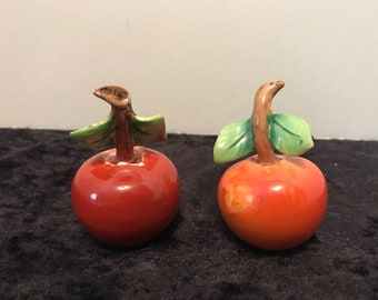 Vintage Cherries Salt & Pepper Shakers