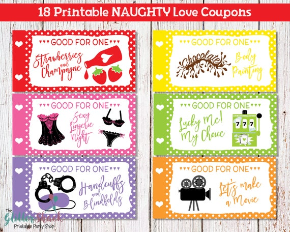 Sexual coupon ideas for boyfriend