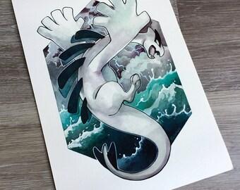 Guardian Fine art print
