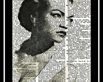 426 Eartha Kitt Black Actress Hollywood Golden era