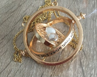 Necklace Harry Potter - Replica inspired by Hermione - time turner jewelry