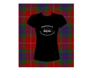 Outlander t-shirt. Highlander, Je suis prest pour Jamie Fraser, Craigh na Dun, Sassenach. Scotland. Clothes women. Outlander top.  Tee