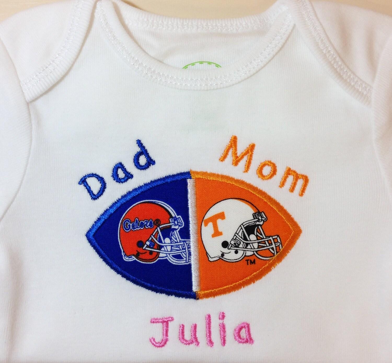 House Divided Baby Football Bodysuit Shirt Burp Cloth or Bib
