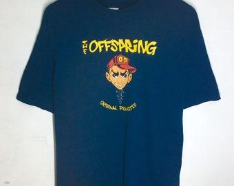 Rare Design Vintage Band Offspring Big Image 90s T-shirt