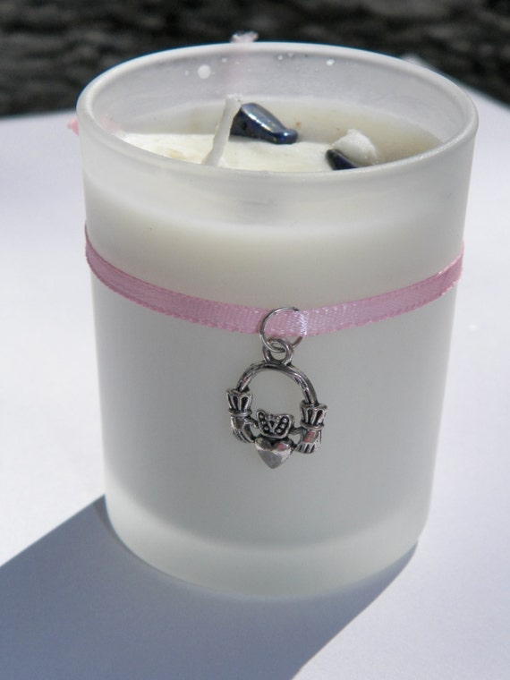 Fidelity & Marriage Blessings Handfasting Candle Soy Hand Made Handfasting Ritual Candle