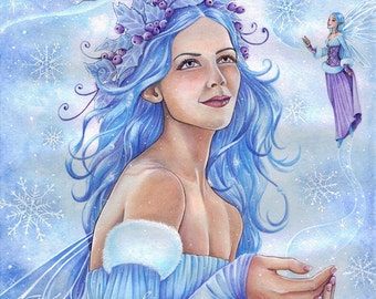 A4 Print - Goddess of the Winter
