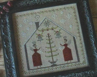 PINEBERRY LANE O' Tannenbaum Christmas counted cross stitch patterns at thecottageneedle.com holidays December
