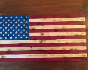 Handmade American Flags, Wooden American Flags, United States Flag