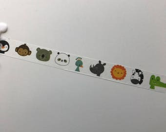 zoo animal Washi Sample