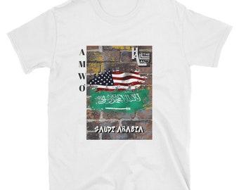 AMWO T-shirt - USA/Saudi Arabia