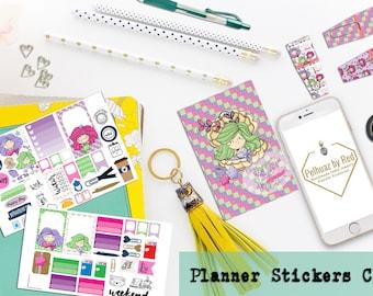 Classic Planner Stickers Club, Planner Sticker Subscription, Monthly Subscription, Subscription Box, Sticker, Happy Planner, Mermaids, Fun