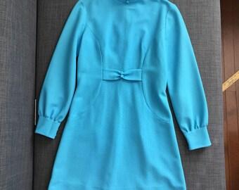 Robins egg blue 1960's dress.