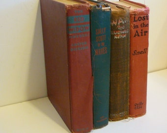 Shabby Old Tattered Vintage Books