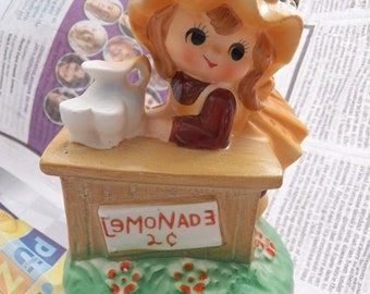"""FRED ROBERTS Co. Vintage Wind Up Figurine """"My Way"""""""