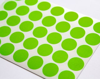0 75 orange neon sticker circle sticker paper circle