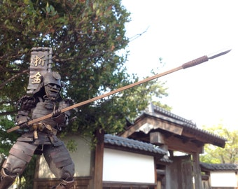 Copper plate Samurai (Spear B)