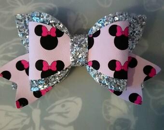 Minnie Mouse Poppy Hair Bow