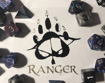 Black and Gold Ranger Decal