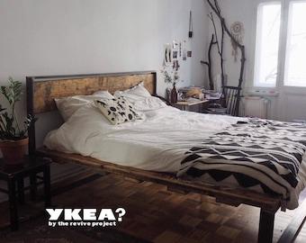 Betten Aus Wiederbelebt Materialien Aller Größen
