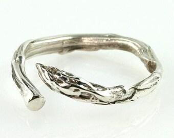 Asparagus Ring - Sterling
