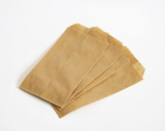 20 Small kraft paper bags for wedding favors