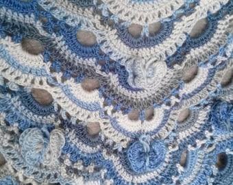 Shawl or scarf / handmade crochet