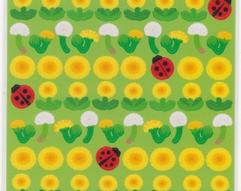 Sunflower Stickers - Lady Bug Stickers - Reference A5900-901A6432-33