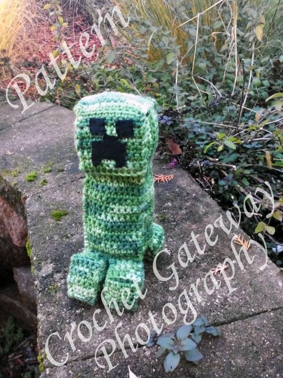 Minecraft Creeper Inspired Crocheted Amigurumi Pattern