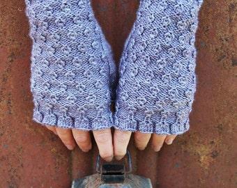 PDF Flip Side Reversible Fingerless Mitts knitting pattern digital download