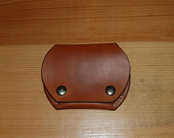 Handmade Leather Ear Bud Case, Made in USA