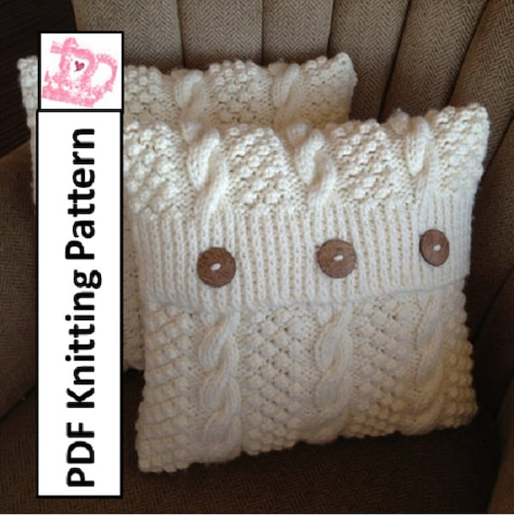 Knitted Cushions Patterns Free