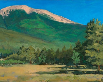 Baldy from Miranda Meadow - Philmont - New Mexico - Open Edition Fine Art Landscape Print