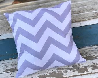 Zig Zag Pillow Cover, Fun Home Decor, White Pillow