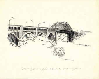 Cleveland Bridge Drawings